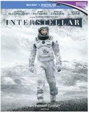 Interstellar Blu-ray 2014 Region by Matthew McConaughey Anne Hatha.