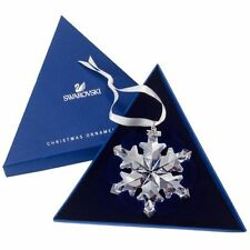 Swarovski 2012 annual snowflake ornament Mint in box with certificate !
