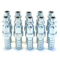 """10 5/16"""" Hose Barb Stem Pneumatic Air Compressor Hose Quick Connect Fitting Plug"""