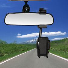 360° Universal Auto KFZ Rückspiegel Halterung Handy Halter phone GPS PAL