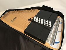 Oscar Schmidt OS45CE Natural Finish Acoustic Electric 21 Chord Classic Autoharp
