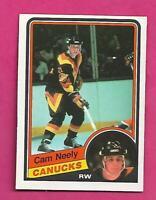 1984-85 OPC # 327 CANUCKS CAM NEELY ROOKIE NRMT+  CARD (INV# D1077)