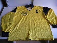 maillot de hand-ball gardien ASPTT Nancy vintage jaune Shemsy XL porté