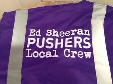 Ed Sheeran Road Crew Safety Vest/Jersey | Limited Distribution | Crew Only Ware!