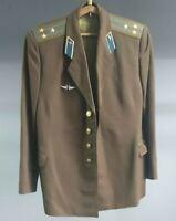 ORIGINAL COLONEL JACKET SOVIET Unio USSR Russian Army  MILITARY Soldier Uniform
