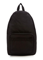 Fred Perry Bags - Twin Tipped Rucksack - All Black Backpack - L2201 - 154