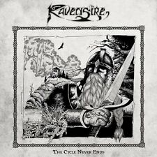 RAVENSIRE  - The Cycle Never Ends (NEW*EPIC METAL*IRONSWORD*TERMINUS*SOSLTICE)
