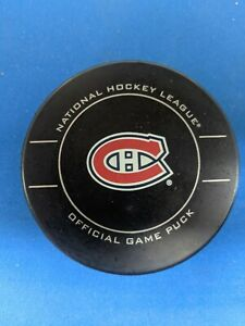 NHL MONTREAL CANADIENS 2011 SHER-WOOD GAME PUCK