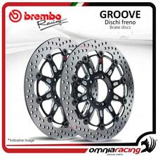 2 Disques frein avant Brembo The Groove 300mm Kawasaki Z1000 SX 2011>2013