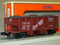 Lionel 6-81691, CB&Q 50-Ton Twin Hopper #188042, Factory New, C-10   /gn