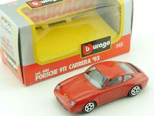 Bburago Burago 4185 Porsche 911 Carrera 1993 1:43 vsc OVP 1604-03-36