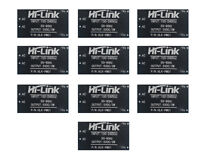 10Pcs HLK-PM01 AC-DC 220V to 5V Step-Down Power Supply Module Household Switch