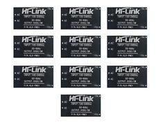 10 pcs HLK-PM01 AC-DC 220V to 5V Step-Down Power Supply Module Switch Q15274-10