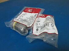 """Acc Halex 27697 Strain Relief Cord Connector 3/4"""" Lot Of 2"""