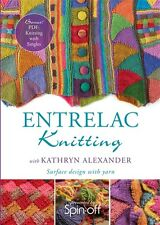 NEW! Entrelac Knitting with Kathryn Alexander [DVD]