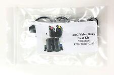 Mercedes ABC Valve Block NITRILE O Ring Seal Kit Reseal *Basic NO square Seals*
