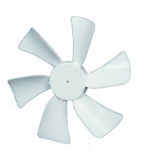 "Ventmate White 6"" Replacement Fan Blade RV Camper Motorhome Trailer Vent Air"