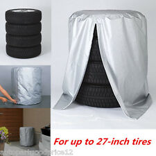 Auto Car Seasonal Tire Storage Bag Spare Tyre Protector Fit Up to 27-inch Tires
