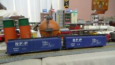 N Scale Atlas Lot of 2 RF&P Boxcars