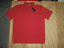 Mens Xlarge Red Striped Under Armour Good Time Golf Polo Shirt - Nwt