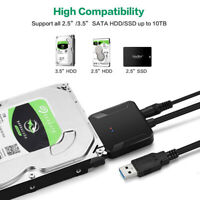 USB 3.0 To SATA Convert Fast Cable for 2.5/3.5 inch SSD HDD Hard Drive Adapter