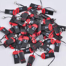 100pcs/lot High Speed Adapter USB 2.0 Card Reader Micro SD T-Flash TF M2 Memory
