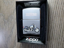 "ZIPPO ""HARLEY DAVIDSON"" Super Glide Custom-Nuovo & OVP - 527"