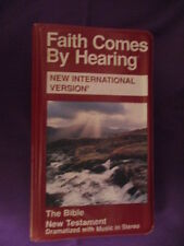 Bible on Cassette NewTestament FAITH COMES BY HEARING New International Version