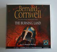 The Burning Land: by Bernard Cornwell - Unabridged Audiobook - 11CDs
