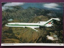 POSTCARD ALITALIA BOEING 727-200