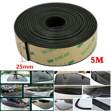 5M 25*2mm Rubber Sealed Strips For Car Windshield Sunroof Triangular Window Seal