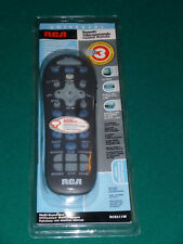 RCA Universal Light Up Remote Control Rcr311w   Instruction Manual & Code Sheet