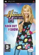HANNAH MONTANA  :  ROCK OUT THE SHOW            -----   pour PSP