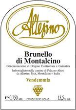6 bottiglie BRUNELLO DI MONTALCINO DOCG 2012 ALTESINO