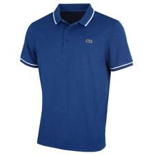 Camisas y polos de hombre azules Lacoste de 100% algodón