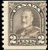Canada Mint NH 1931 2c F  Scott #182 King George V Arch Leaf Coil Stamp