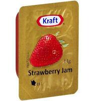 Kraft Strawberry Jam Portions 75x14gm