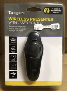 Targus AMP16US Presentation Pointer - Laser - Wireless -  - USB