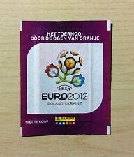 "BUSTINA SIGILLATA FIGURINE PANINI ""EURO 2012"" - VERSIONE OLANDESE - RARA"