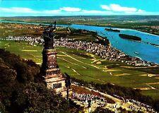 Rüdesheim am Rhein , Niederwalddenkmal, Ansichtskarte,  gelaufen