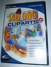 140.000 Cliparts Web Images Themes PC CD-ROM Softkey IMSI Windows 95/98/ME/XP