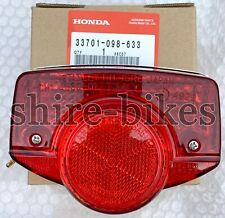 NEW Genuine Honda 6V Rear Light Unit for Cub C50 C70 & C90 (UK Round Head Light)