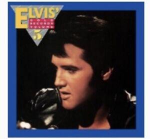 Elvis FRM-4941 Elvis Gold Records Vol 5 Gatefold/Translucent Blue Vinyl (Ltd Ed)