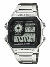NEW CASIO  MODIFIED Men's DIGITAL AE-1200WHD-1A /PUSSY MAGNET.SEE DESCRIPTION