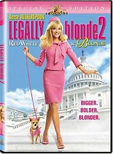 NEW Legally Blonde 2 - Red, White & Blonde (Special Edition) (DVD)