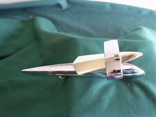 NOS 1959 Ford Galaxie Hood Ornament Flying Ellipse FoMoCo 59