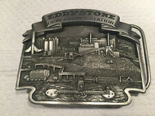 Eddystone Generating Station Commemorative Belt Buckle with serial number