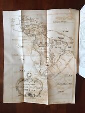 RARE 1853 History Buccaneers of America, New England Piracy PIRATES, Foldout MAP