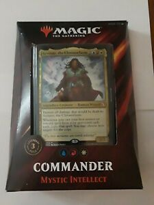 Magic the Gathering 2019 Commander Deck Mystic Intellect Factory Sealed NEW