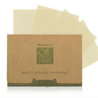 100x Facial Oil Control Papers Film Wipes Sheets Absorbing Face Blotting Clean